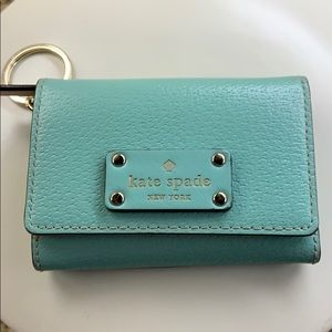 Kate Spade Leather Keychain Wallet🌟